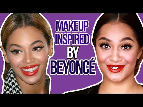BEYONCE INSPIRED DRUGSTORE MAKEUP TUTORIAL