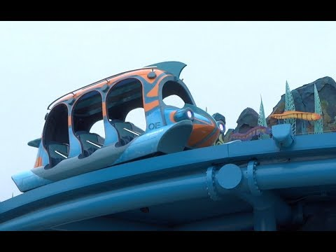 NEW Submarine Quest FULL RIDE POV at SeaWorld San Diego