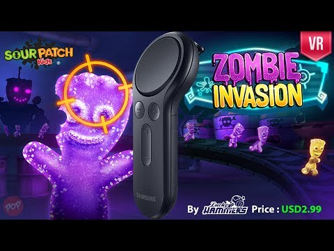 Soul Patch Kids : Zombie Invasion Gear VR with Gear VR Controller support gameplay and review