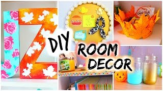 DIY: Room Decor for Fall | Spice up your room