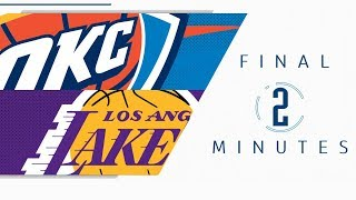 Final Minutes: Los Angeles Lakers vs Oklahoma City Thunder - UNCUT | 2019-20 NBA Season - 11.22.19
