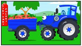 Tractor for kids New | Traktorki i Maszyny Praca | Traktor - Nowy Specjalny Bajki dla dzieci 2018