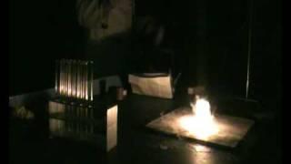 Burning Diamond in Liquid Oxygen