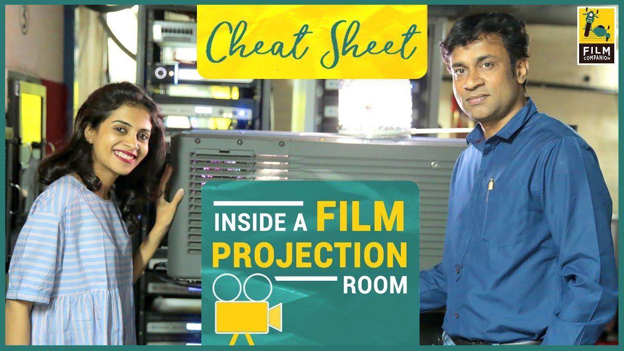 Inside A Film Projection Room   PVR Cinemas   Cheat Sheet
