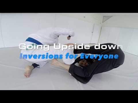 BJJAfter40: Going Upside Down, Jiu Jitsu Inversions With Black Belt Mike 'Spider Ninja' Bidwell