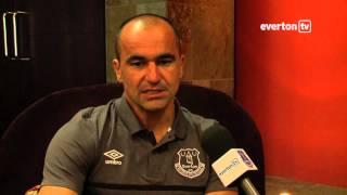 Roberto Martinez Previews Dundee Clash