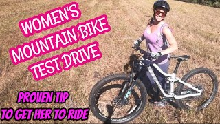 How to CHOOSE the RIGHT WOMEN'S MOUNTAIN BIKE *Girls Mountain Biking* *Mountain Bike Girlfriend*