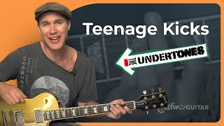 How to play Teenage Kicks by the Undertones (Rock Guitar Lesson SB-310)