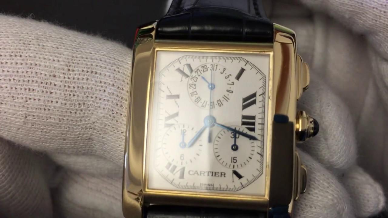 163a730a69c0 Cartier Tank Francaise Chronograph