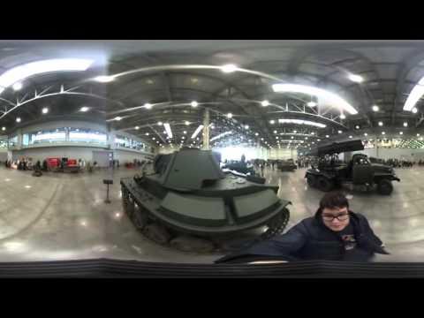 Видео 360: выставка исторической военной техники «Моторы войны»