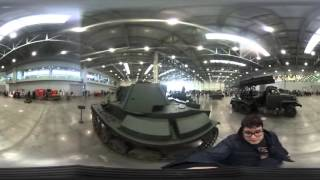Видео 360: выставка исторической военной техники «Моторы войны»(Побывайте на выставке исторической военной техники «Моторы войны» в МВЦ «Крокус Экспо» в Москве при помощи..., 2016-03-19T12:54:19.000Z)