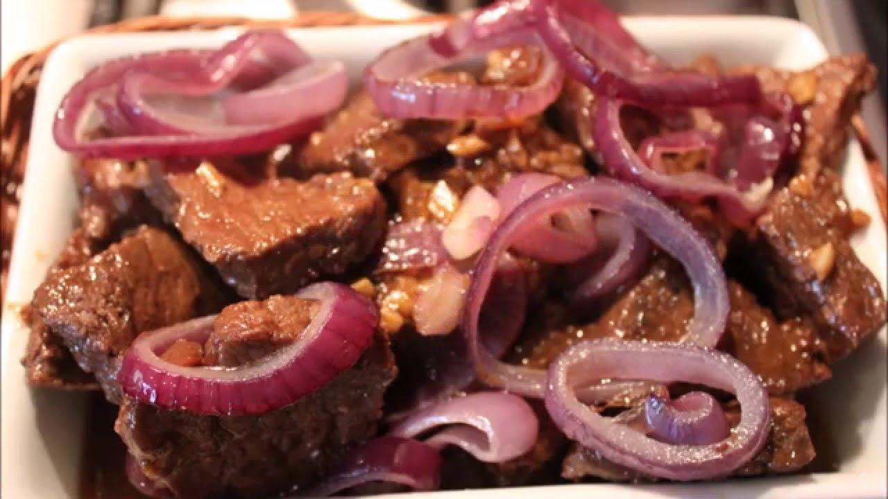 Bistek tagalog recipe panlasang pinoy lutong pinoy youtube forumfinder Images