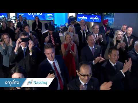 Watch Ominto ringing The Closing Bell @ Nasdaq on March 21,2017
