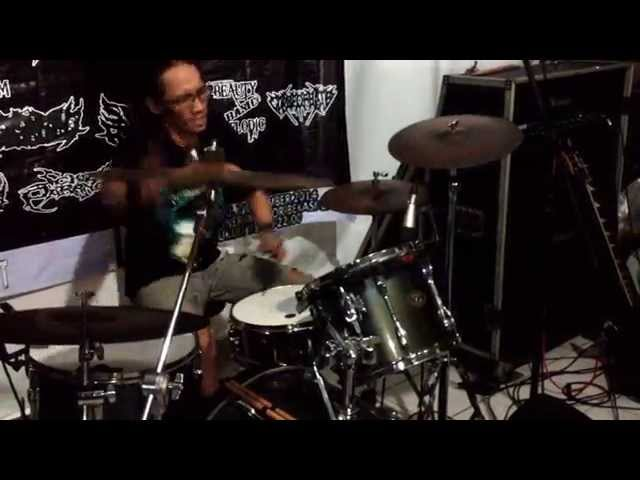 SOLO DRUM - CARCASS..!!!
