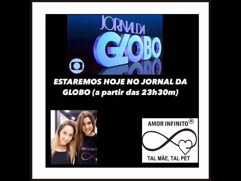 A I Jornal da Globo 19 05 16 TAL MÃE TAL PET - AMOR INFINITO