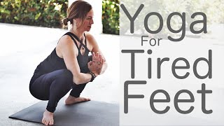 Yoga for Tired Feet and Sore Legs with Lesley Fightmaster