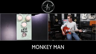 J Rockett Audio Designs Monkey Man Overdrive demo video by Shawn Tubbs. Tweed amp in a box!