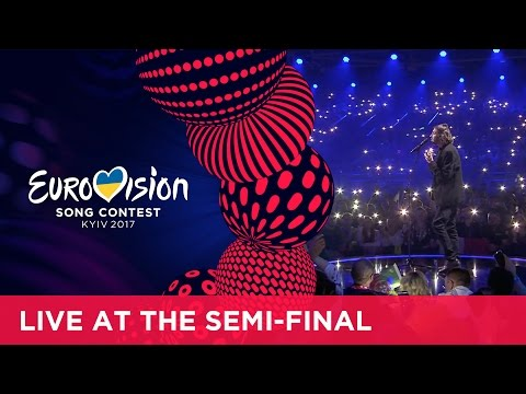 Salvador Sobral - Amar Pelos Dois (Portugal) LIVE at the first Semi-Final