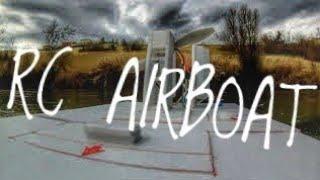RC SCRATCHBUILT BIG AIRBOAT