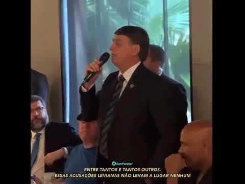 """""""Enfia no rabo de vocês da imprensa essas latas de leite condensado"""", diz Bolsonaro"""