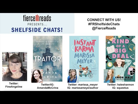 Fierce Reads Shelfside Chats