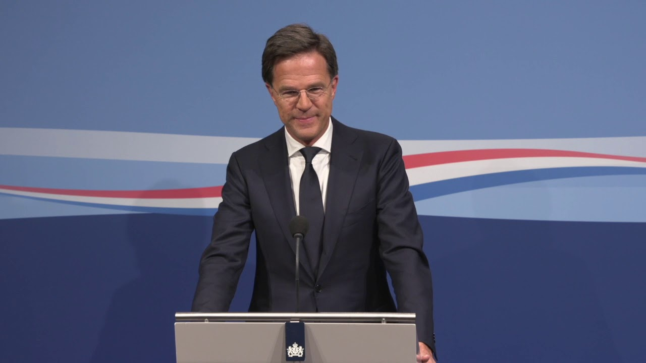 Integrale Persconferentie Van MP Rutte Van 18 April 2019