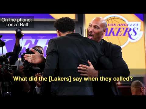 Lakers No. 2 pick Lonzo Ball eager to team up with Brandon Ingram