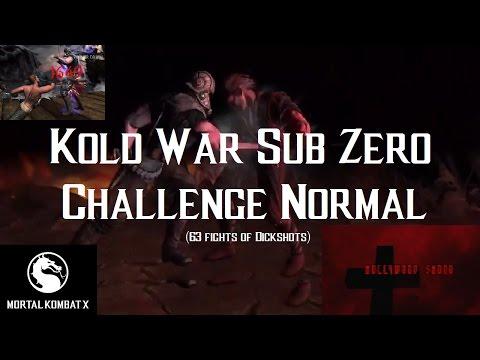 Mortal Kombat X iOS - Kold War Sub Zero Challenge Full Normal Difficulty