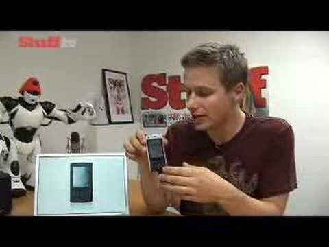 Sony Ericsson P1i video review