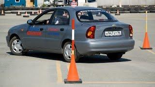 Задняя паралельная парковка. Как это делают на экзамене