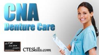 cna skills 19 denture care