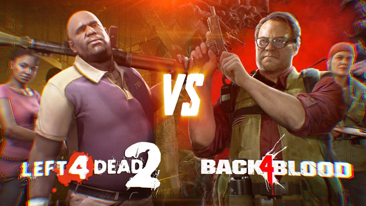 Left 4 Dead 2 vs Back 4 Blood
