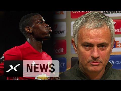 Jose Mourinho teilt aus! Medienschelte wegen Pogba | Manchester United - Fenerbahce Istanbul 4:1