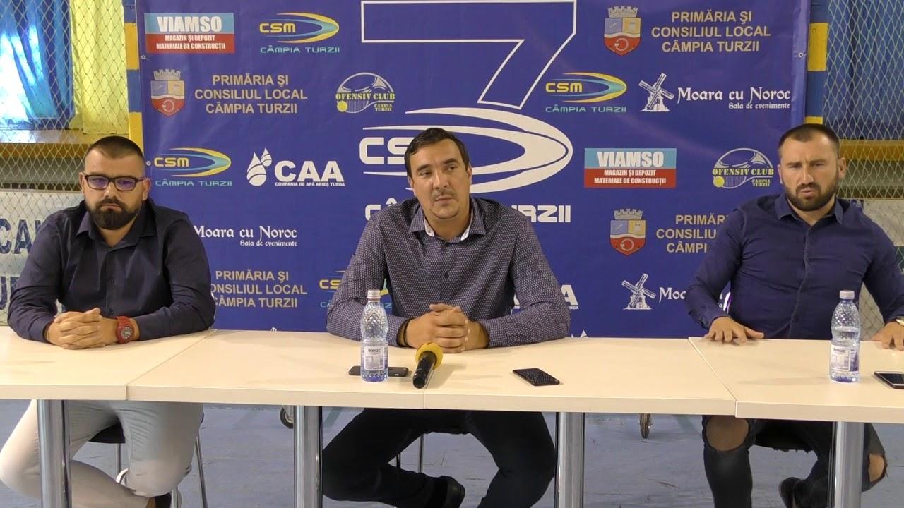 Conferință de presă CSM Câmpia Turzii - fotbal (22.07.2019)