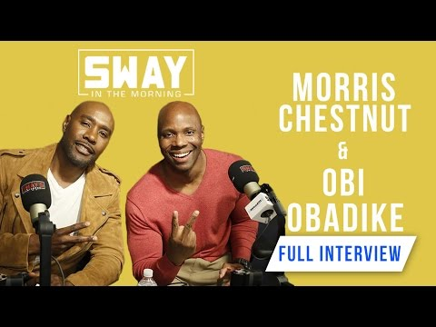 Morris Chestnut & Obi Obadike Talk Nutrition, Fitness & New Book + NBA Finals