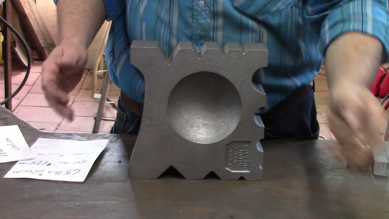 Affordable swage block review by Virginia School of Traditional Arts VSTA  holland anvil