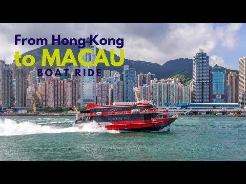 FERRY TO MACAO | HONG KONG | speedy boat ride to Macau