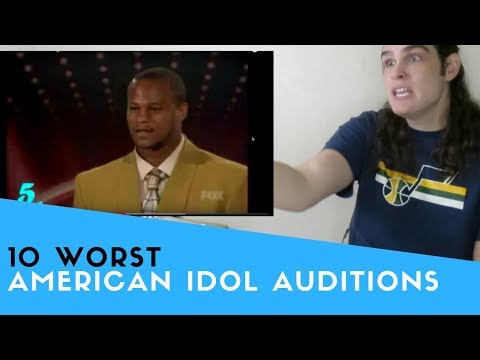 Voice Teacher Reacts to American Idol - Ten Worst Singers Ever