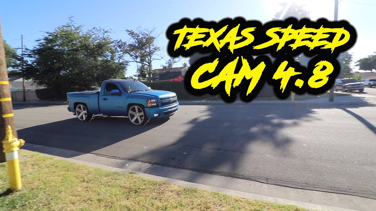LOUDEST CAMMED SINGLE CAB 4 8 SILVERADO ON YOUTUBE!!