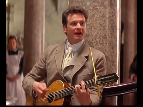 Colin FIRTH singing in THE IMPORTANCE OF BEING EARNEST