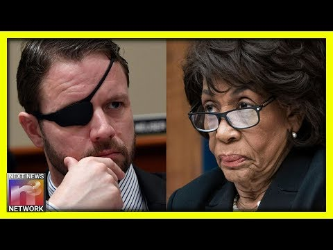 BOOM! Mad Maxine Gets A Taste of Her Own Medicine When Dan Crenshaw Steps In