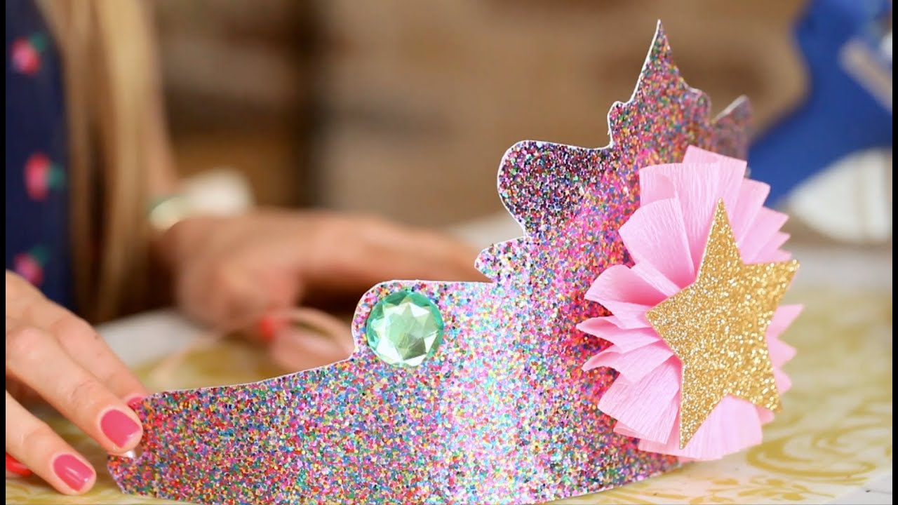 A birthday to remember diy princess crowns youtube izmirmasajfo Images