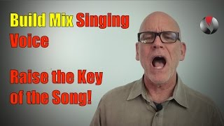 Build Mix Singing Voice - Raise the Key Pitch of the Song