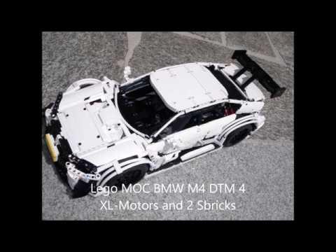 Lego Moc Bmw M4 Dtm Alpinwhite 4xxl Motors 2xsbrick Youtube