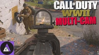 IS COD WW2 MULTIPLAYER GOOD? 🔫  Call of Duty WW2 Mutli-Cam Duos 🔫 COD WW2 Duos PC Gameplay