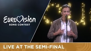 Frans - If I Were Sorry (Sweden) Live at Semi - Final 1 of the Eurovision Song Contest
