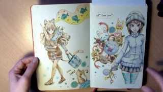 Moleskine sketchbook Sketchbook tour 4
