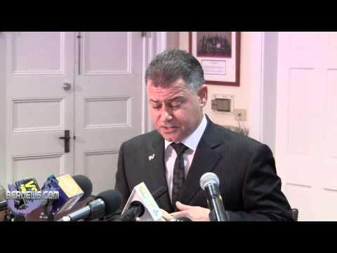 Minister Zane DeSilva Post Throne Speech Statement, Nov 2 2012