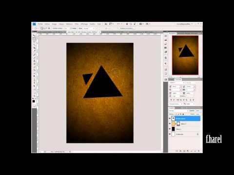 [Photoshop] Tuto - Créer Un Effet Géométrique Noir Et Rayé
