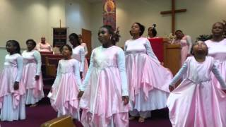 "COGIC Praise Dance Ministry: ""Something Happens"" (Kurt Carr)"